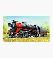 VicRail 4-6-4 R Class Hudson (R701) Photographic Print