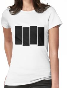 Black Flag shirt Womens Fitted T-Shirt