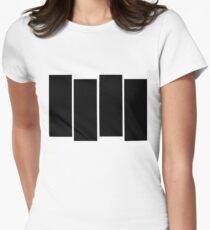 Black Flag shirt Womens Fitted T-Shirt