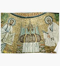 The seat of power, Arian Baptistry Ravenna Italy 19840414 0053 Poster