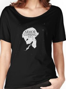 Armored Titan is Coming Women's Relaxed Fit T-Shirt