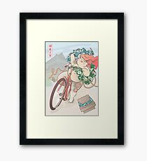 Ride free! Framed Print