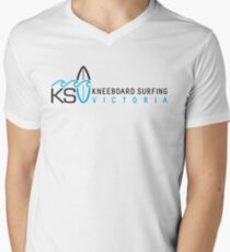 KSV Light T Horizontal Logo Men's V-Neck T-Shirt