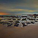 Caves Beach Dawn - pano by bazcelt