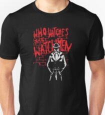 Rorschach - Who watches the WATCHMEN Unisex T-Shirt