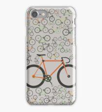 Fixed gear bikes iPhone Case/Skin