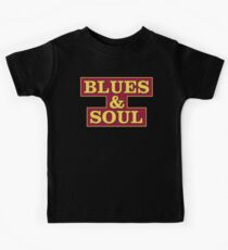 Blues & Soul Big Size Kids Tee