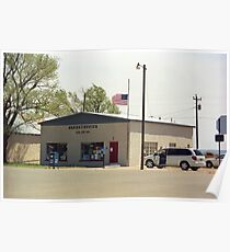 Route 66 - San Jon Post Office Poster