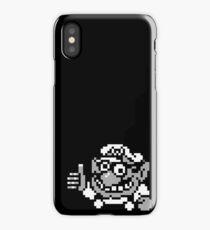 Wario B&W iPhone Case/Skin