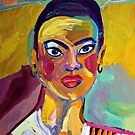 Colorful Lady by Jann Ashworth