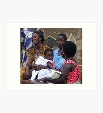 Kitgum Mothers, Uganda Art Print