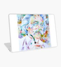 MARK TWAIN - watercolor portrait Laptop Skin