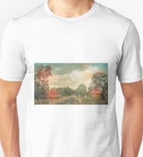 Lonely Vintage Railway Photo T-Shirt