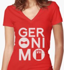 GERONIMO Fitted V-Neck T-Shirt
