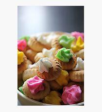 Ice Gem Biscuits III Photographic Print