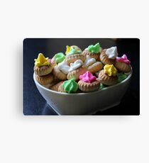 Ice Gem Biscuits IV Canvas Print