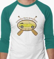 Johnny's Moto Surf Shop Men's Baseball ¾ T-Shirt