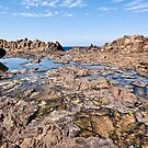 Water and Rocks - Kiama by Dilshara Hill