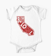 Buy Local Ca Short Sleeve Baby One-Piece