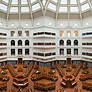 State Library Panorama by Victor Pugatschew