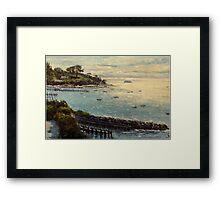 Sorrento, Mornington Peninsula, Victoria, Australia Framed Print
