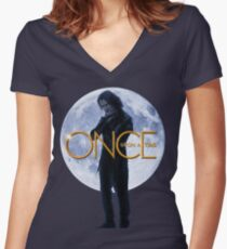 Rumplestiltskin - Once Upon a Time Women's Fitted V-Neck T-Shirt
