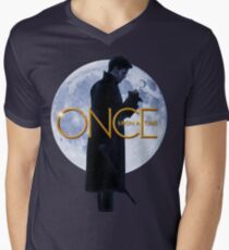 Captain Hook/Killian Jones - Once Upon a Time Men's V-Neck T-Shirt