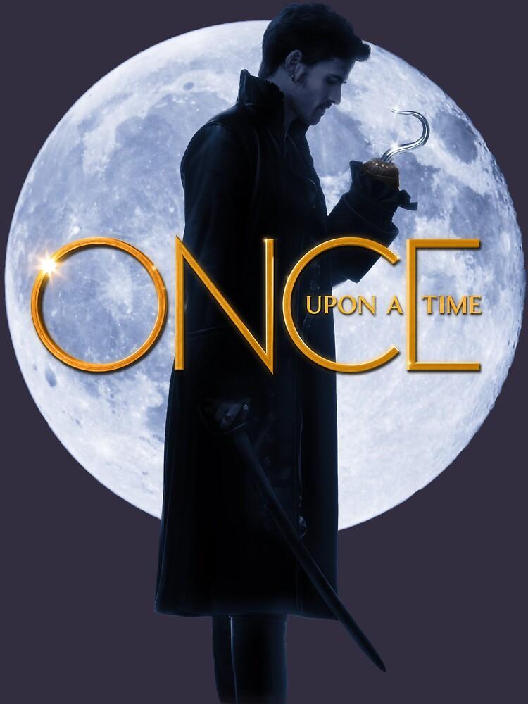 Captain Hook/Killian Jones - Once Upon a Time by TeganKain
