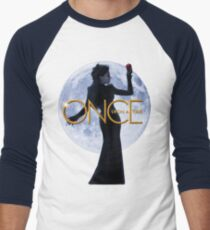 The Evil Queen/Regina Mills - Once Upon a Time Men's Baseball ¾ T-Shirt