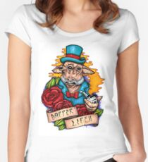 Dapper Ask Aak Women's Fitted Scoop T-Shirt