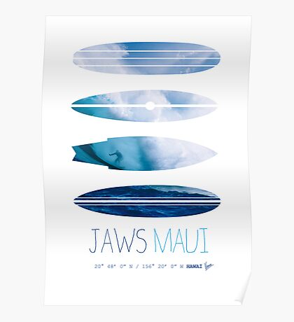 My Surfspots poster-1-Jaws-Maui Poster