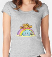Giga BluePuni ! Women's Fitted Scoop T-Shirt