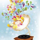 Creative music player poster by schtroumpf2510
