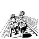 Japanese School Girls by parisiansamurai