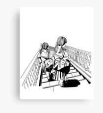 Japanese School Girls Canvas Print