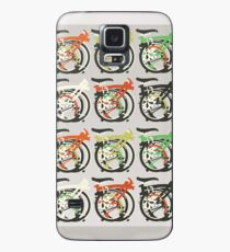 Folded Brompton Bicycle Case/Skin for Samsung Galaxy