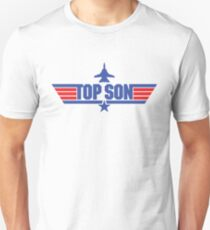 Custom Top Gun Style Style - Top Son T-Shirt