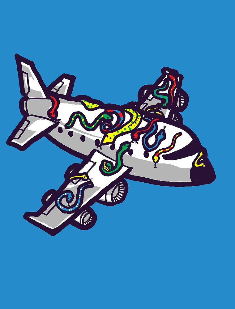 Snakes on a Plane (literally) by Jonah Block
