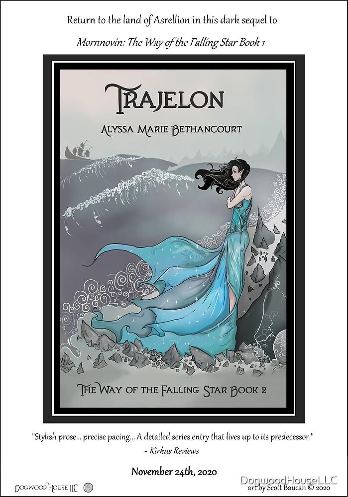 TRAJELON Release Poster by DogwoodHouseLLC