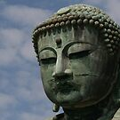 Japanese Buddha Kamakura by Sally P  Moore
