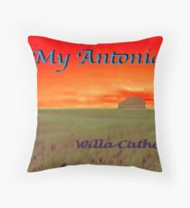 My Antonia Throw Pillow
