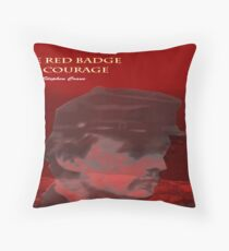 Crane's The Red Badge of Courage Throw Pillow