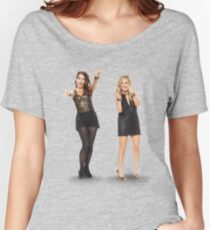 Tina and Amy; Sisters Women's Relaxed Fit T-Shirt