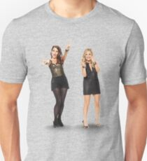 Tina and Amy; Sisters Unisex T-Shirt