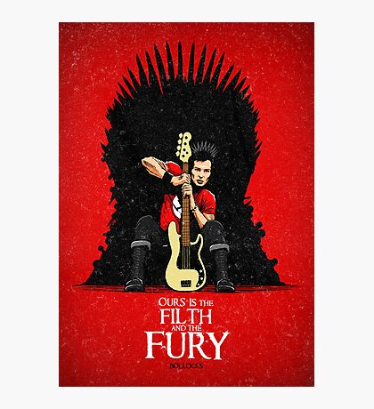Ours is The Filth and The Fury Photographic Print