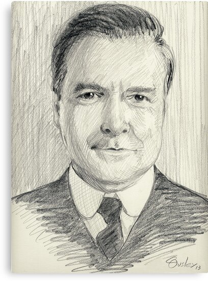 John Bates of Downton Abbey by COusley622