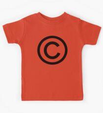 Copyright Kids Tee