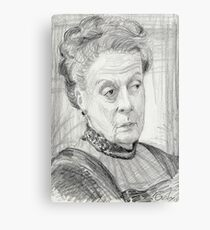 Countess Violet Crawley of Downton Abbey Metal Print