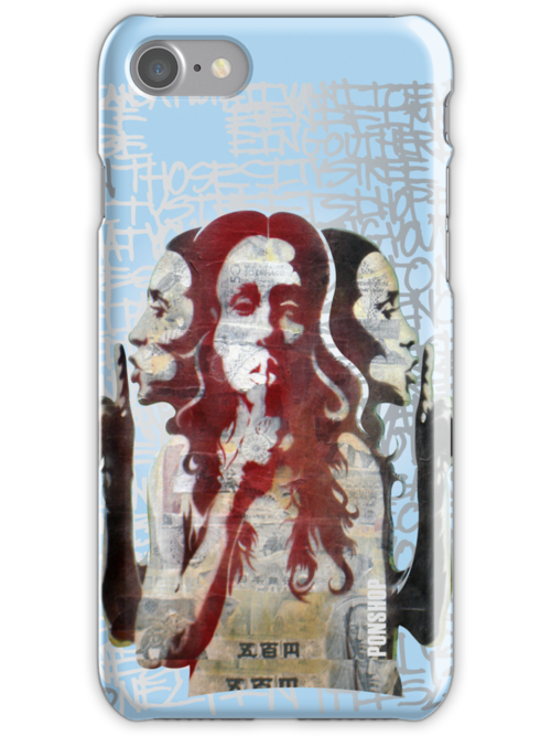 """""""Hush"""" iPhone Case by PONSHOP"""