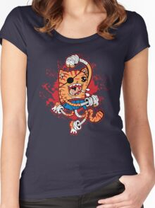Tigrrr UppurrrCut! Women's Fitted Scoop T-Shirt